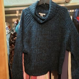 Big comfy sweater with dolman sleeves